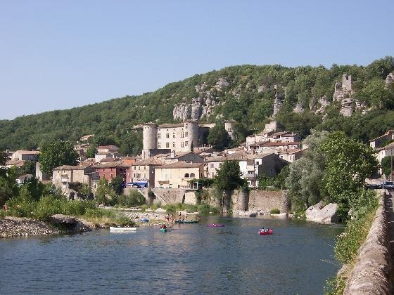 The town of Aubenas, France.
