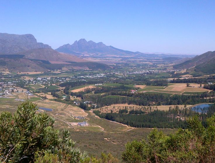 Franschhoek View point