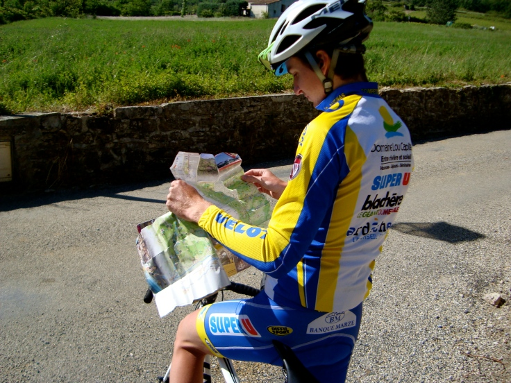 My well-used guide to the Ardeche