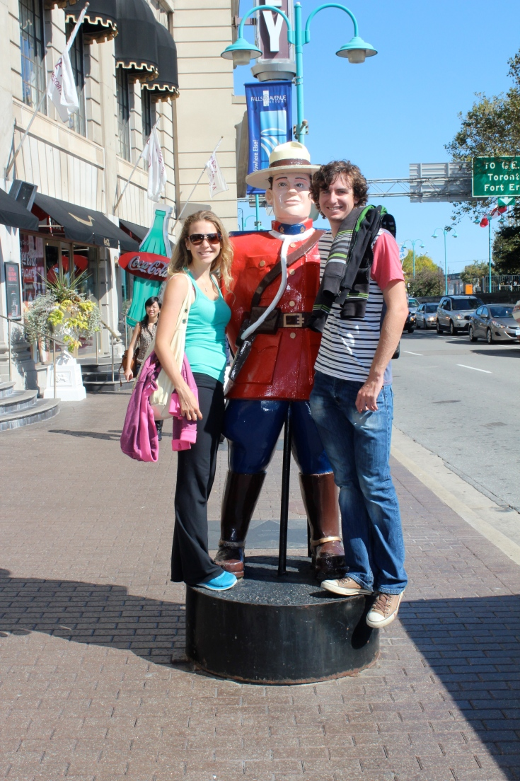 My first run in with a Canadian Mountie