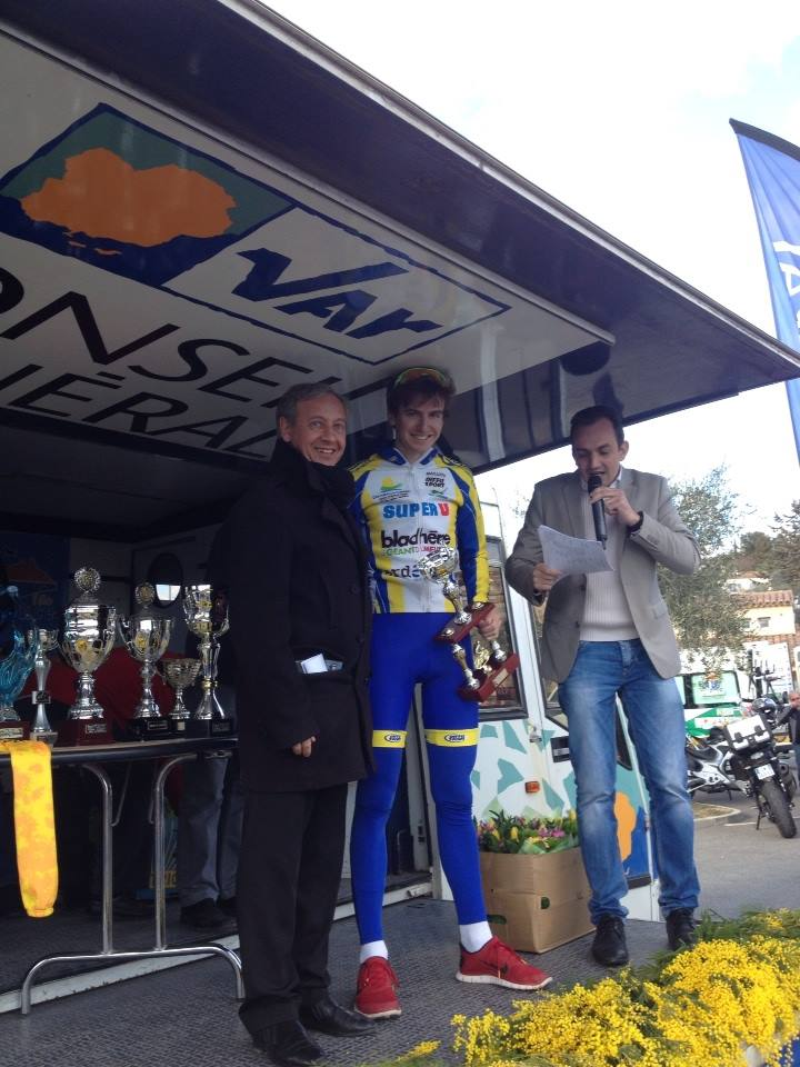 I was a little tall for the podium.