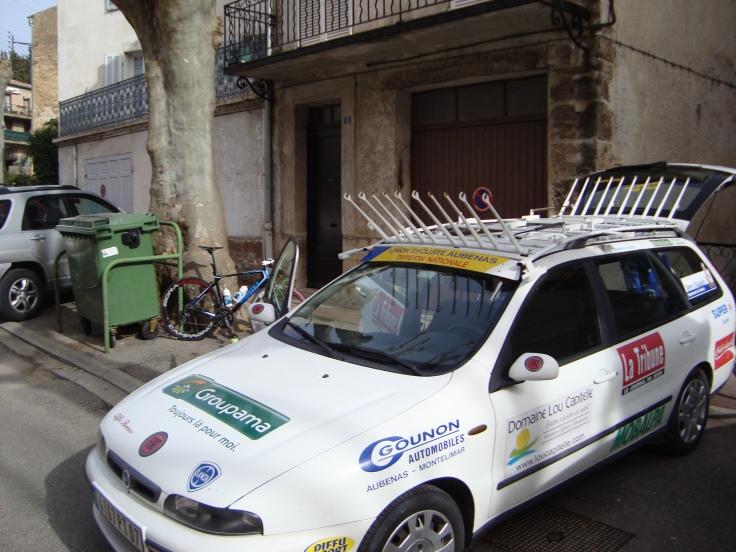 The trusty old Fiat Mara