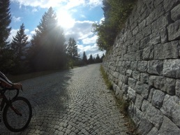 A bit of half-wheeling AND Cobbles.