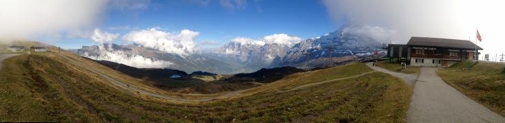 That view. Mannlichen. 2343m